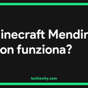 Minecraft Mending non funziona? Ecco la guida agli incantesimi