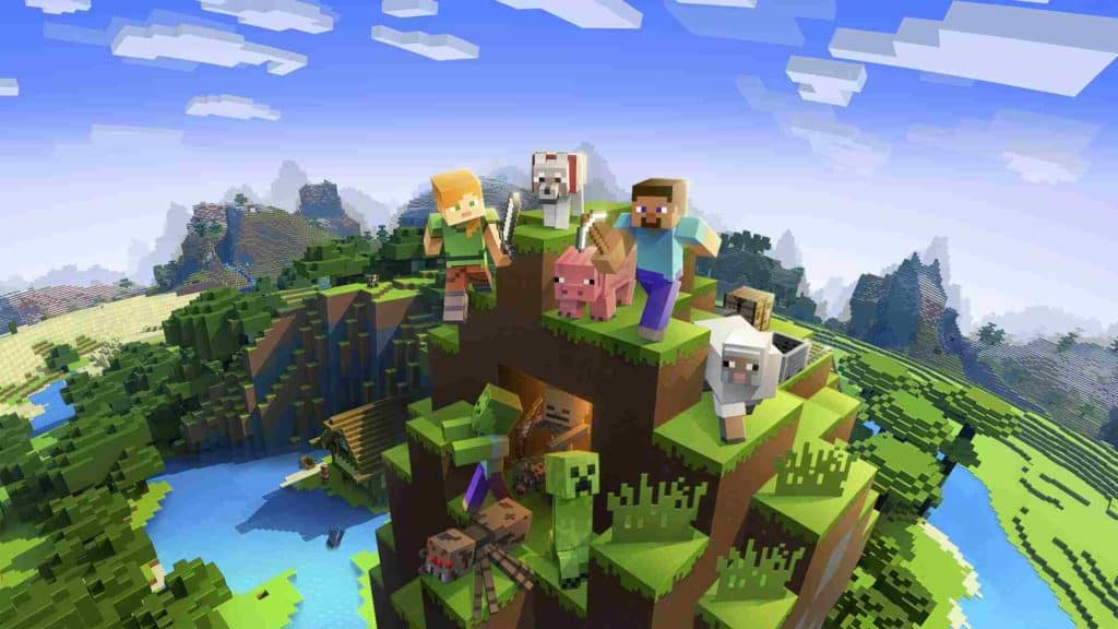 Minecraft Mending