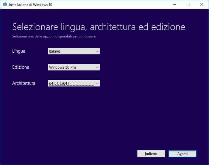 Scarica Windows 10 Free [32-64BIT] in Italia 2020