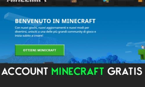 Metodi Gratis per Ottenere account Minecraft nel 2020