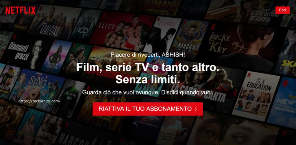 Account Netflix Gratis E Password Per Il
