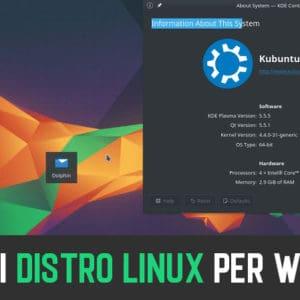 10 Migliori Distro Linux per Windows 10 (Distribuzioni Linux 2020)