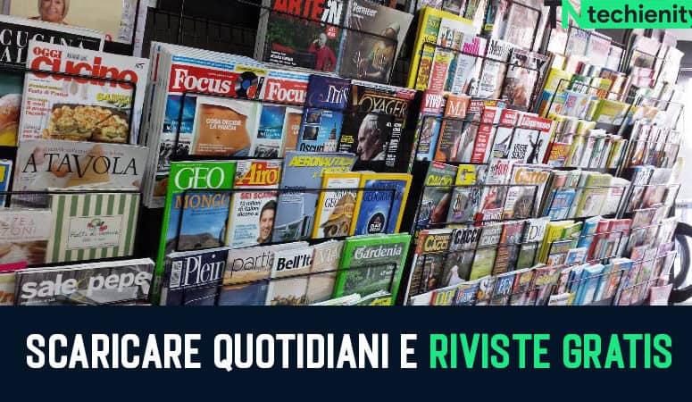 Scaricare Quotidiani E Riviste Gratis In Formato PDF