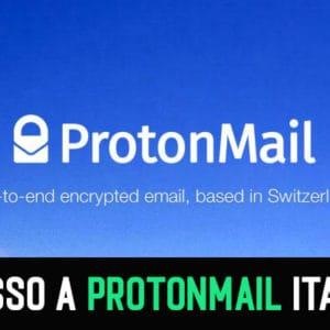 Accesso a Protonmail italiano, Registrazione (2021)