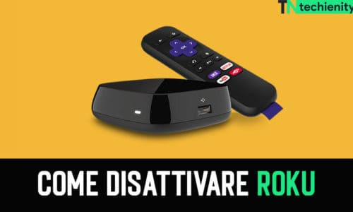 Come disattivare Roku e Roku Player Voice 2021