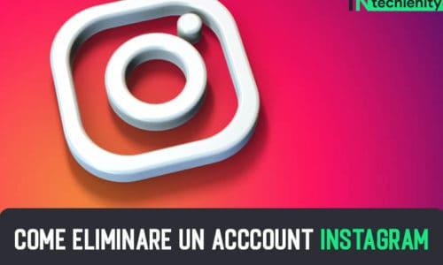 Come Eliminare un Acccount Instagram 2021: CANCELLARE INSTAGRAM PROFILO