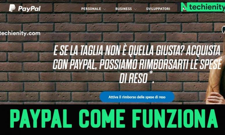 Paypal Come Funziona: Come inviare e ricevere denaro