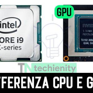 Che Differenza c'è tra CPU e GPU - Guida Completa