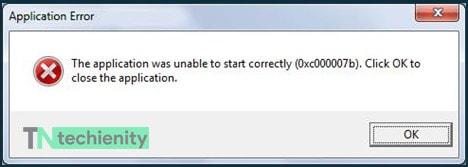 Come Risolvere 0xc00007b di Errore in Windows