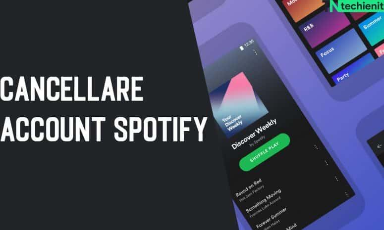 Come Cancellare Account Spotify