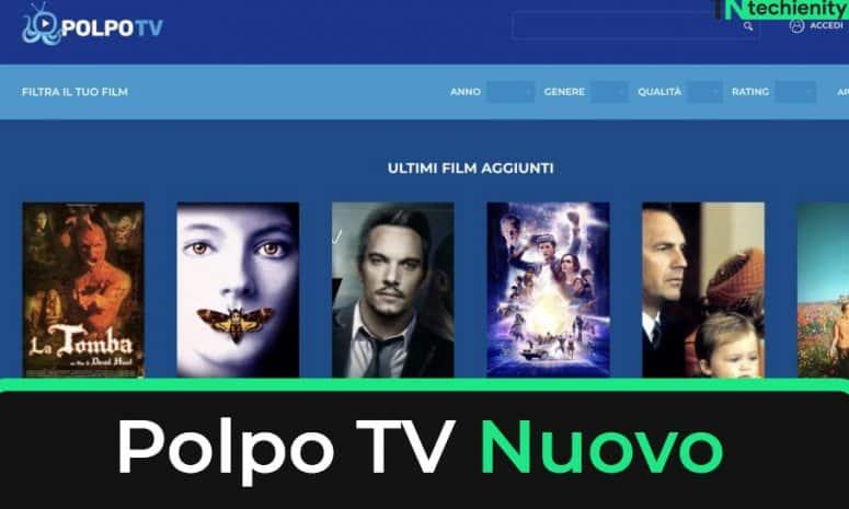 Polpo TV Nuovo Indirizzo per Streaming di Film Gratis 2021