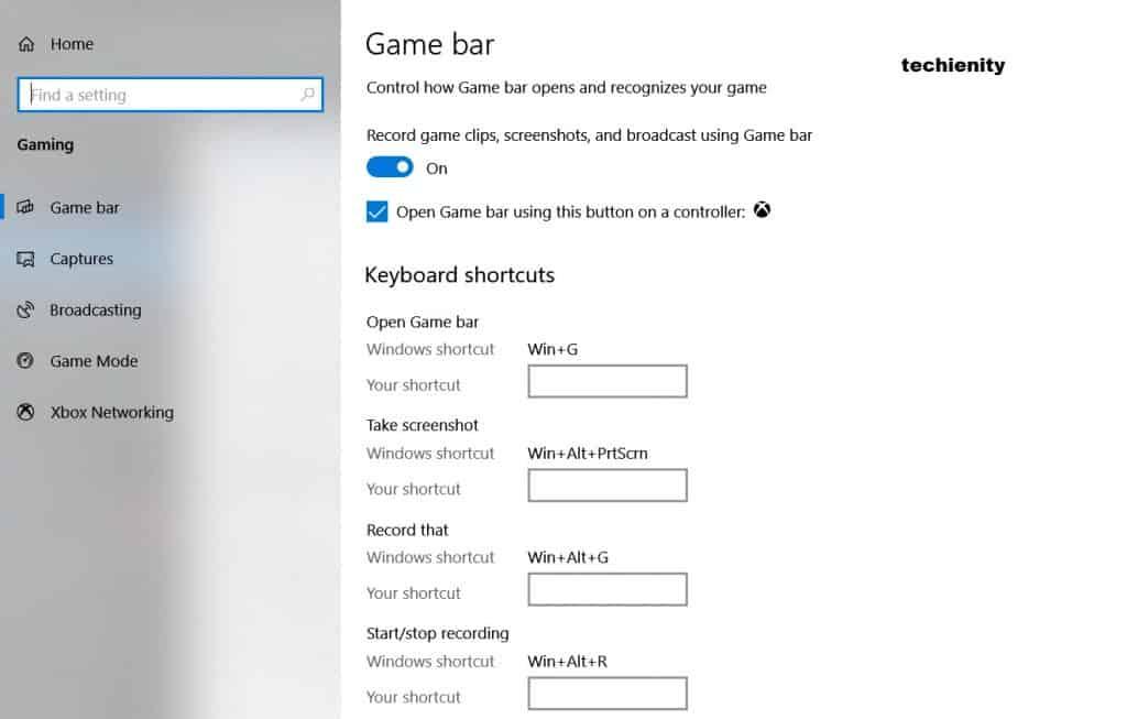Registrare lo Schermo PC Windows 10