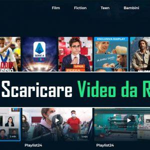 Come Scaricare Video da Raiplay 2021 (Metodi Funzionante)