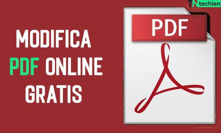 Migliori Siti Modifica PDF Online Gratis Italiano nel 2021