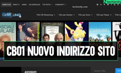 CB01 Nuovo Indirizzo Sito Film e Serie TV in HD (2021)