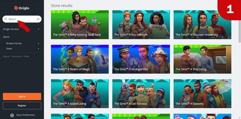 Scaricare The Sims 4