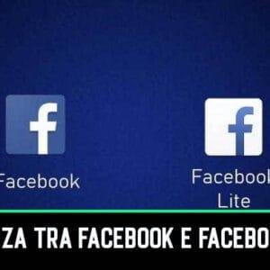 Qual è la Differenza tra Facebook e Facebook Lite?