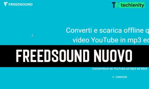 FreedSound Nuovo Indirizzo e Siti di Download MP3 Gratuiti Simili