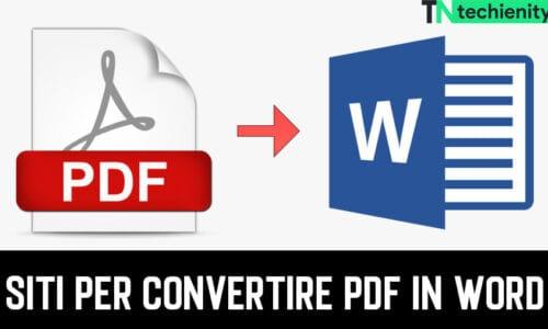 10 Migliori Siti Per Convertire PDF In Word (Gratis 2021)
