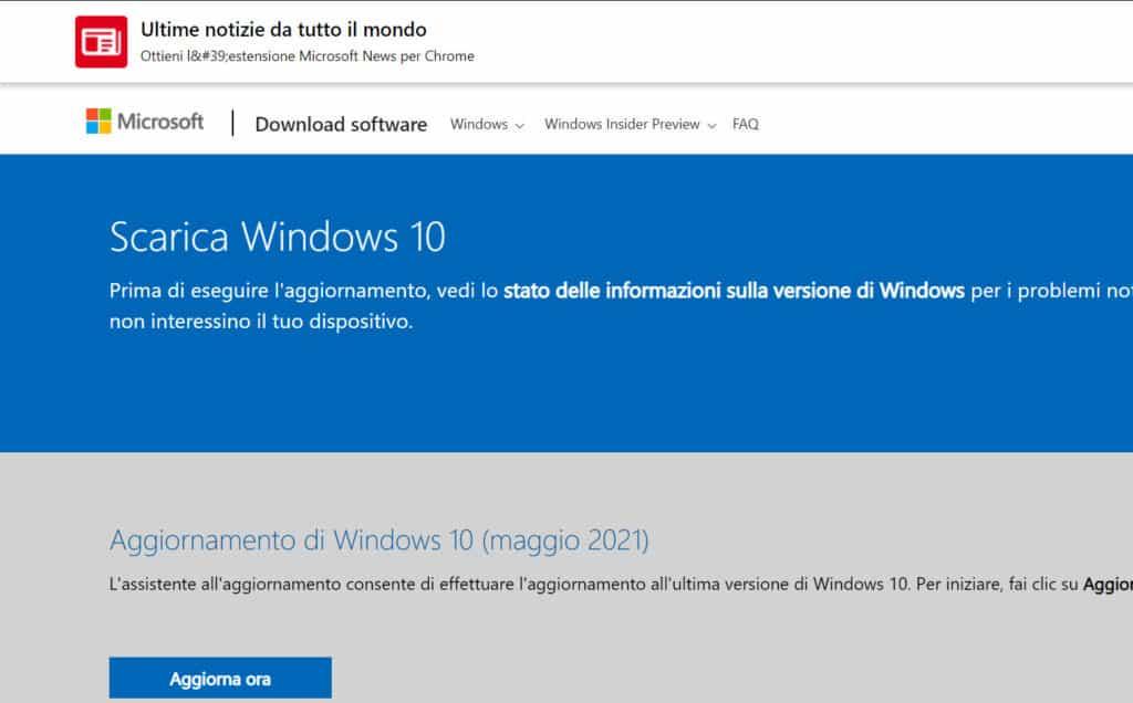 Utilizzo Dello Strumento Di Creazione Windows Media