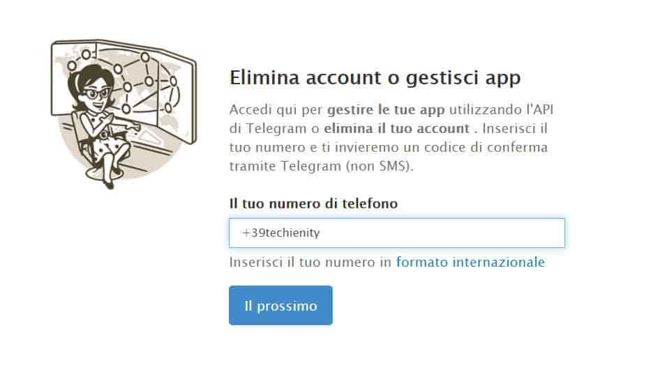 Come Eliminare Definitivamente Telegram Account