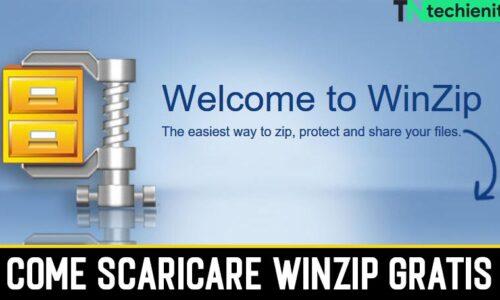 Come Scaricare WinZip Gratis per Windows