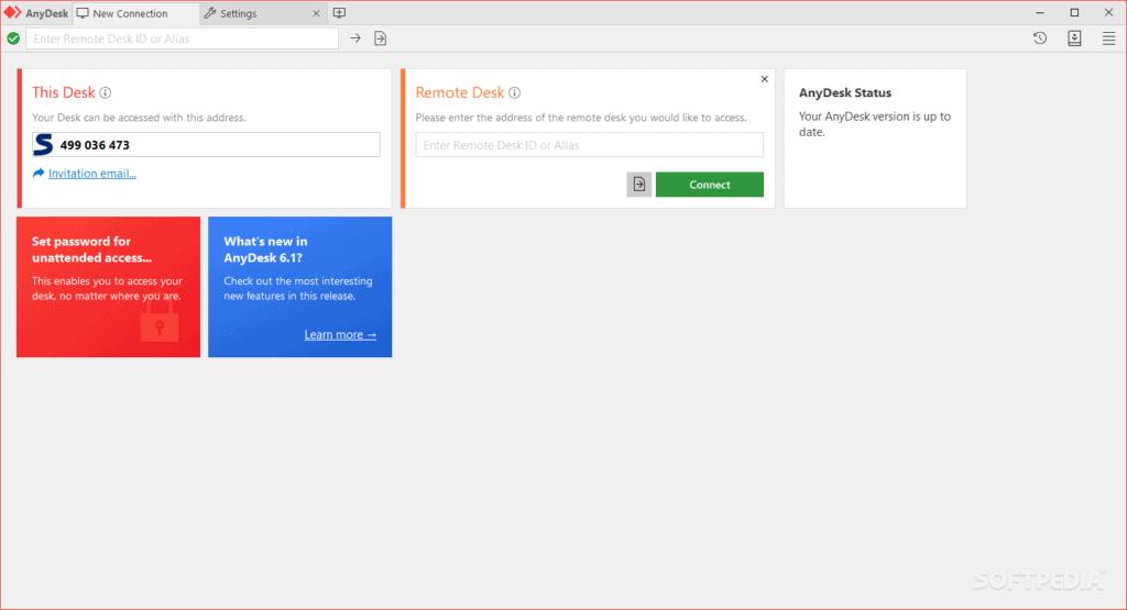 Download AnyDesk Installer Windows