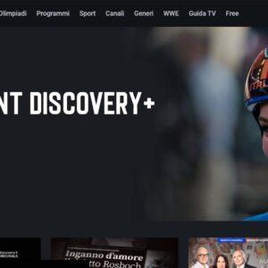 Account Discovery+ Plus Gratis E Password Italia