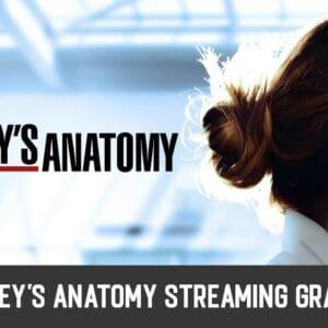 Come Vedere Grey's Anatomy Streaming Gratis