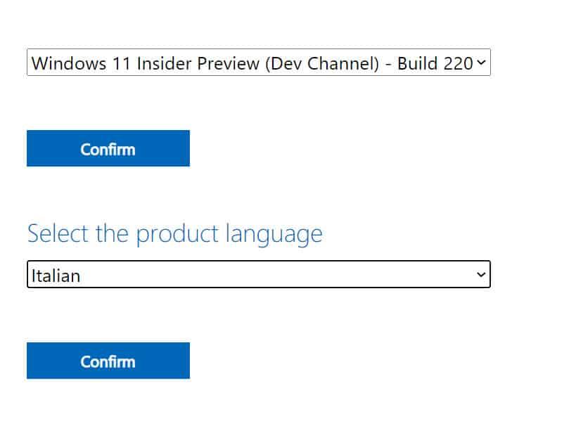 Download Windows 11 Italiano