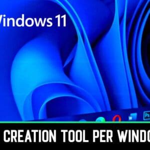 Scarica Media Creation Tool per Windows 11