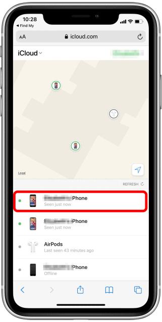 Ritrovare un iPhone Smarrito