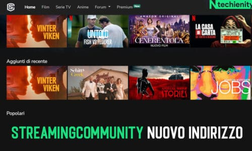 Streamingcommunity Nuovo Indirizzo Sito Streaming Gratis 2021