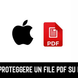 Come Proteggere un File PDF su iPhone/iOS 2021