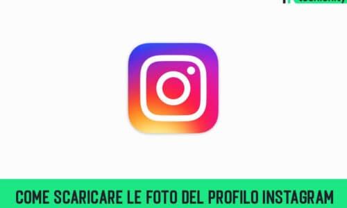 Come Scaricare Le Foto Del Profilo Instagram