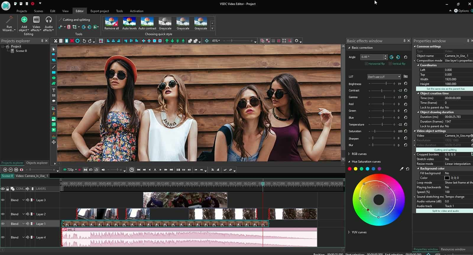 VSDC Video Editor Gratis